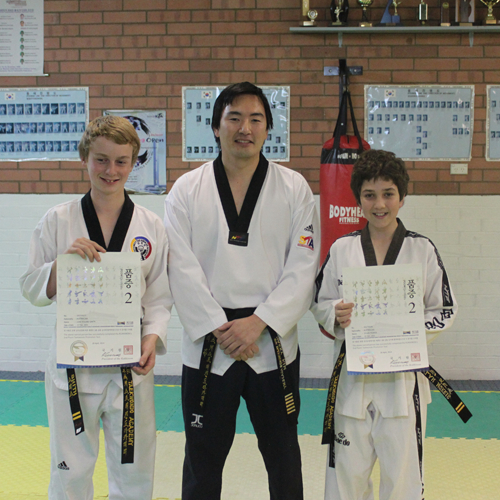 2nd Poom Black Belts