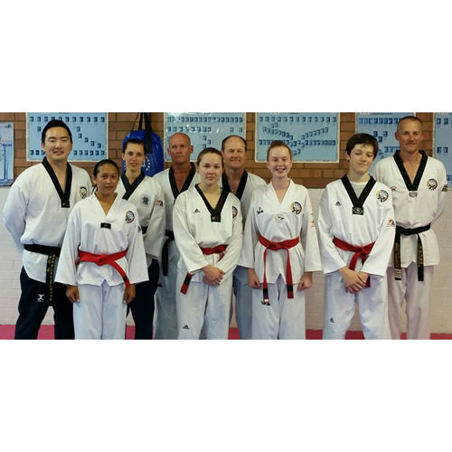 Black Belt Grading and Helpers Sept 2015