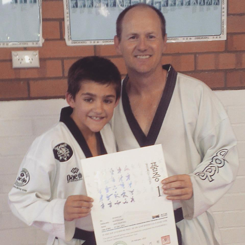 Black Belt for Jake