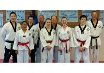 Black Belt Grading and Helpers Sept 2015