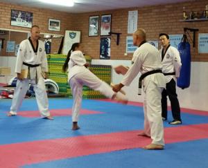 Board Breaking for Black Belt Grading – South West Taekwondo Academy